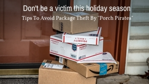 6 Ways To Prevent Holiday Package Theft By Porch Pirates